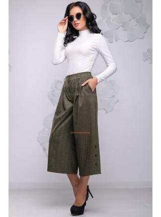Стильні жіночі штани кюлоти