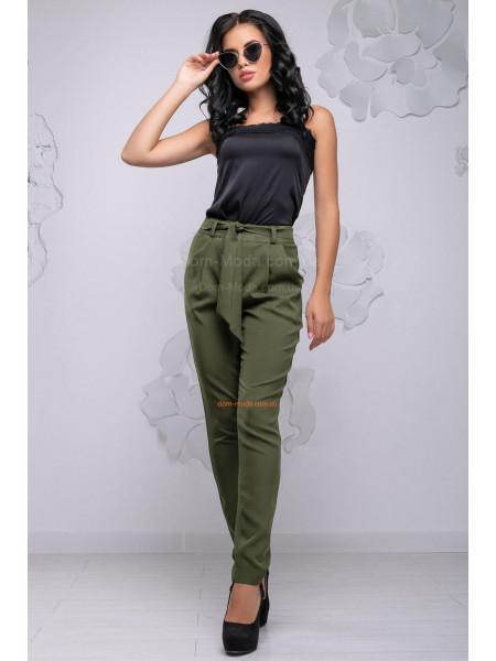 Стильні брюки хакі і чорного кольору