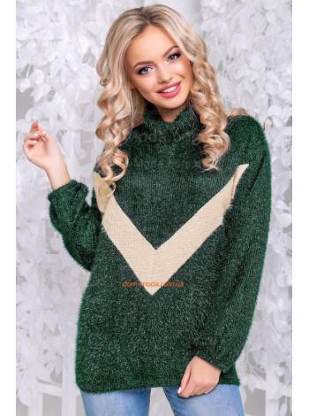 Стильный свитер женский свободного кроя