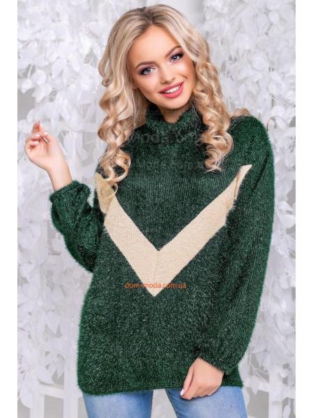Стильний светр жіночий вільного крою