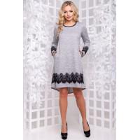 Стильне асиметричне плаття із кишенями