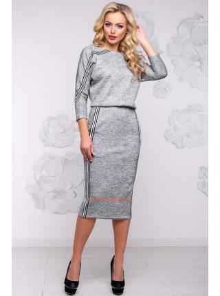 Платье женское модное из ангоры с люрексом