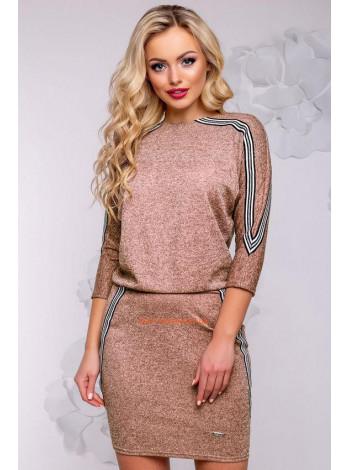 Короткое платье женское из ангоры