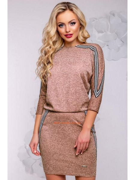 Коротке плаття жіноче із ангори