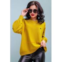 Женский модный пуловер свободного кроя