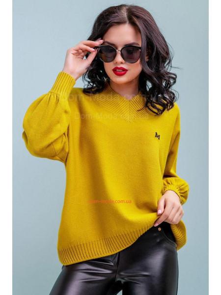 Жіночий модний пуловер вільного крою