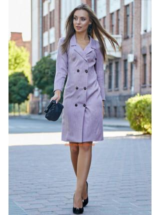Стильное платье пиджак с рукавом