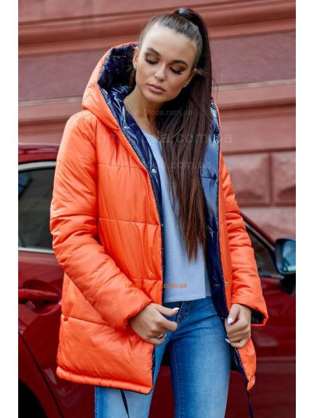 Жіноча двостороння зимова куртка