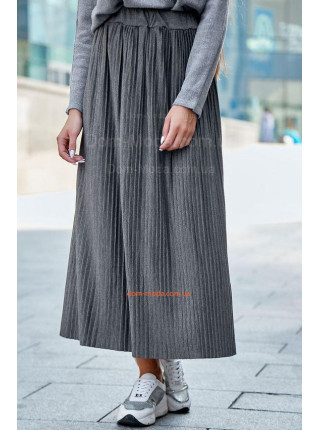 Женская плиссированная юбка макси