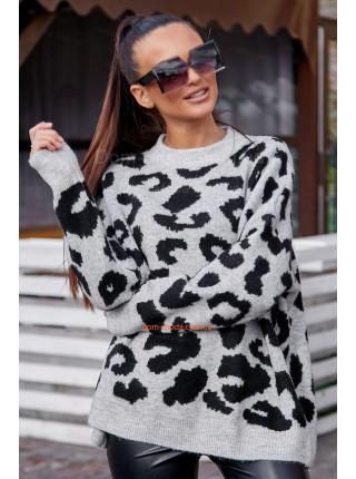 Жіночий теплий светр із довгим рукавом