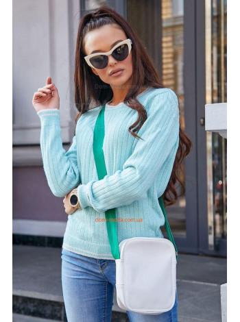Класичний жіночий джемпер із довгим рукавом