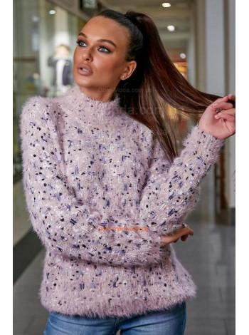 Жіночий теплий светр із рукавом