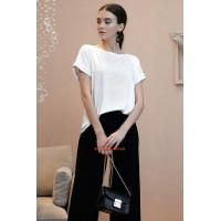 Женская модная белая блузка