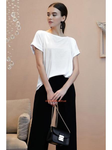 Жіноча модна біла блузка