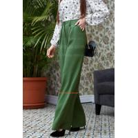 Женские модные широкие брюки