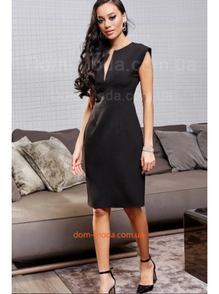 Вечернее платье без рукав