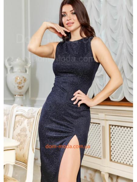 Вечернее платье с вырезом