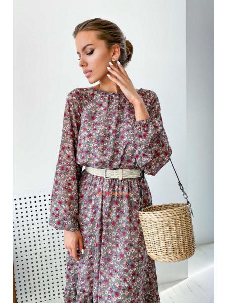Шифонове плаття в принт
