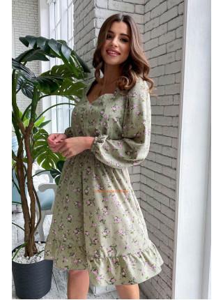 Літнє плаття в квітковий принт