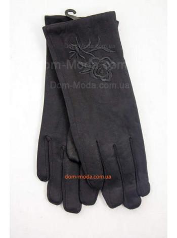 """Зимние перчатки женские с вышивкой """"Розы"""""""