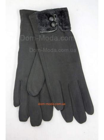 """Утепленные женские перчатки """"Искусственный кролик"""""""
