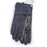 """Шкіряні жіночі рукавички """"Коза"""""""