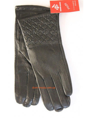 Жіночі зимові рукавички з натуральної шкіри