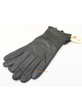 """Стильні жіночі рукавички """"Строчки"""""""