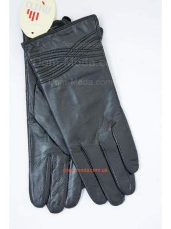 """Модні шкіряні рукавички """"Зимові"""""""