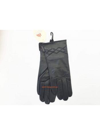 """Зимові модні рукавички """"Шкіра"""""""