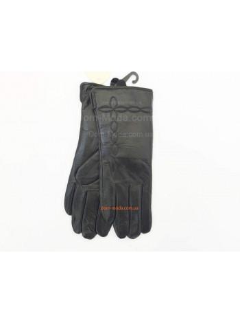 """Утеплені шкіряні рукавички """"Класик"""""""