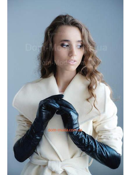 """Женские кожаные длинные перчатки """"Хит"""""""