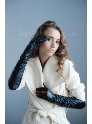 """Жіночі шкіряні довгі рукавички """"Хіт"""""""