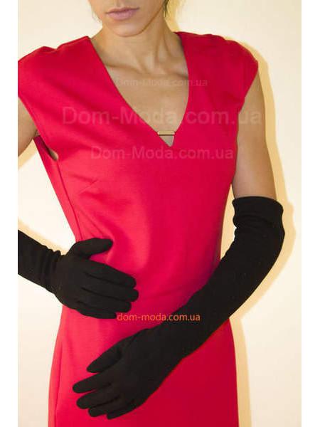 """Женские длинные перчатки """"Леди"""""""