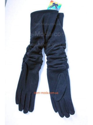 """Зимові довгі жіночі рукавички """"Збірка"""""""