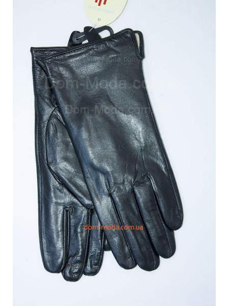 Жіночі шкіряні рукавички з утеплювачем