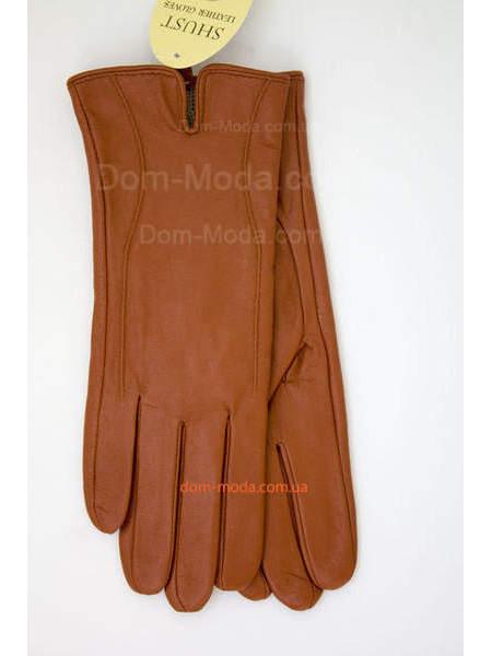 """Руді шкіряні рукавички """"Терракот"""""""