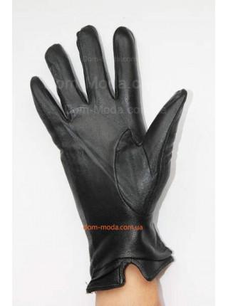 """Стильные перчатки из натуральной кожи """"Косичка"""""""