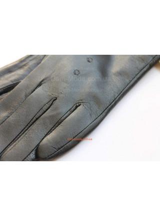 """Теплые кожаные перчатки """"Бант"""""""