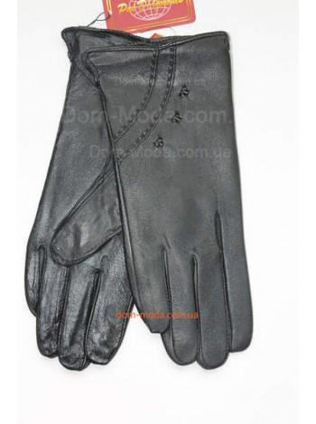 """Жіночі теплі рукавички з натуральної шкіри """"Венді"""""""