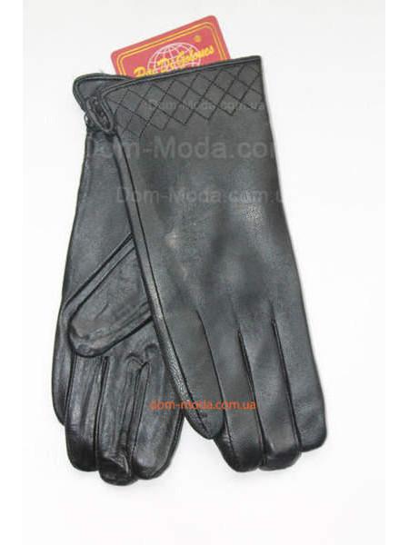 """Модные теплые перчатки из кожи """"Рита"""""""