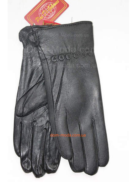 """Модные зимние перчатки из кожи """"Фрея"""""""