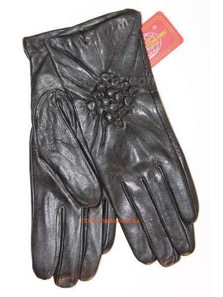 """Модні рукавички жіночі шкіра """"Лана"""""""