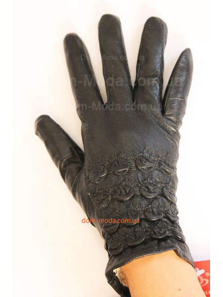 """Утепленные зимние перчатки из кожи """"Кира"""""""