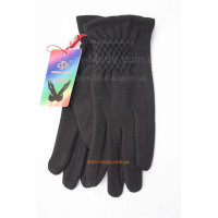 """Зимние трикотажные перчатки на меху """"Вики"""""""