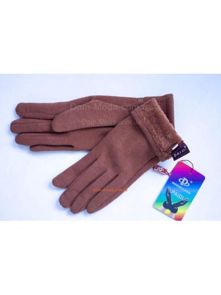"""Трикотажні жіночі рукавички зимові """"Соня"""