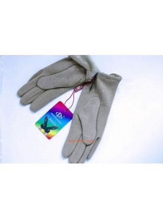 """Жіночі бежеві рукавички зимові """"Міа"""""""
