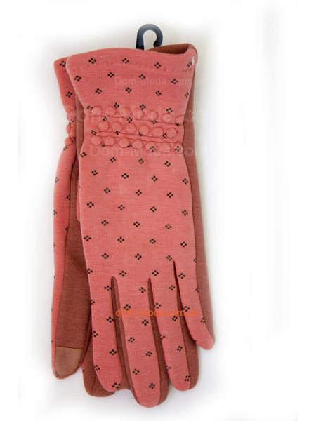 """Зимние трикотажные перчатки женские """"Коралл"""""""