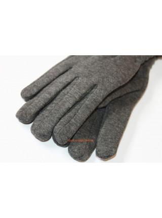 """Зимние серые перчатки женские """"Пейдж"""""""