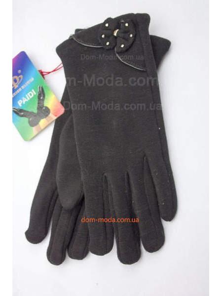 """Жіночі зимові рукавички чорні """"Карина"""""""